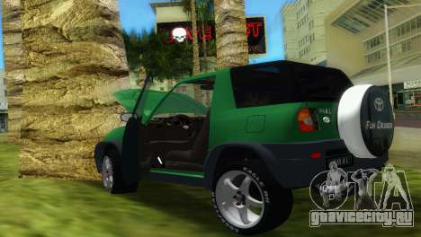 Toyota RAV 4 L 94 Fun Cruiser для GTA Vice City вид изнутри