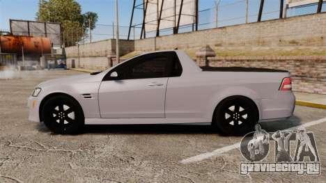 Pontiac G8 Sport Truck 2010 для GTA 4 вид слева