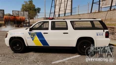 GTA V Declasse Police Ranger LCPD [ELS] для GTA 4 вид слева
