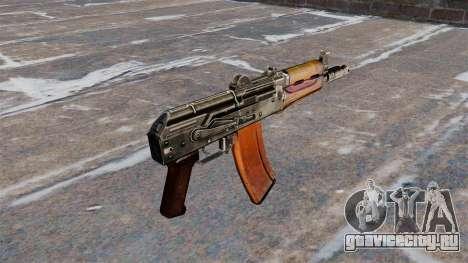 Автомат АКС74У без приклада для GTA 4 второй скриншот