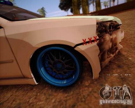 Subaru Legacy для GTA San Andreas вид справа
