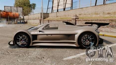 Gumpert Apollo S 2011 для GTA 4 вид слева