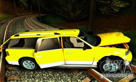 Landstalker GTA IV для GTA San Andreas вид снизу