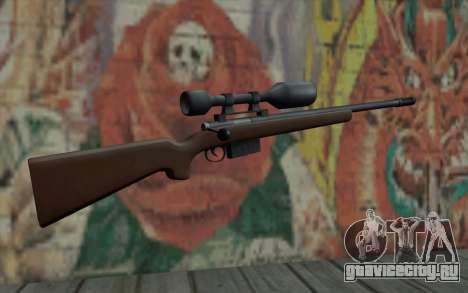 Sniper Rifle HD для GTA San Andreas второй скриншот