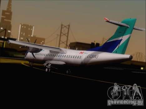 ATR 72-500 WestJet Airlines для GTA San Andreas вид справа