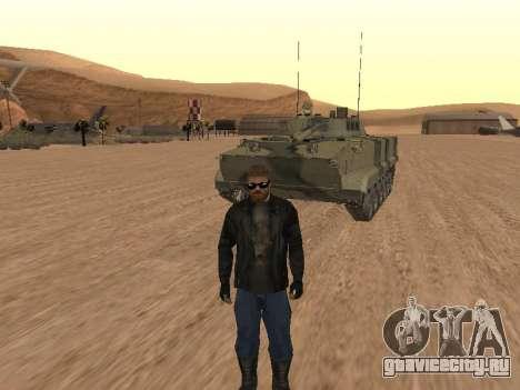 БМП-3 для GTA San Andreas вид сзади