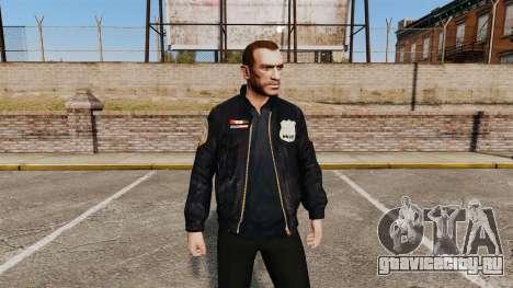 Куртка полицейского для GTA 4
