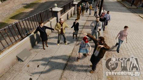 Скрипт -Танцы- для GTA 4 второй скриншот