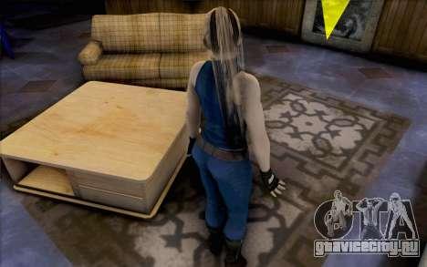 Sarah из Dead or Alive 5 для GTA San Andreas третий скриншот