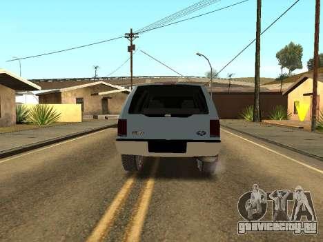 Ford Excursion для GTA San Andreas вид справа