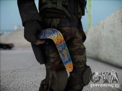 Бумеранг для GTA San Andreas третий скриншот