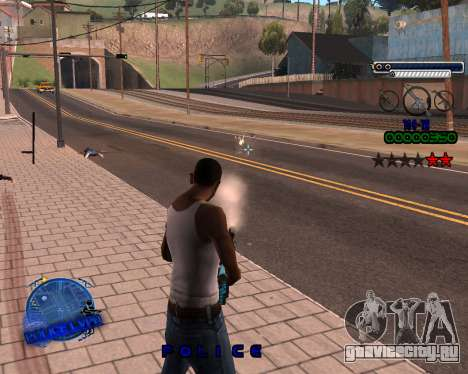C-HUD Police LVPD для GTA San Andreas третий скриншот