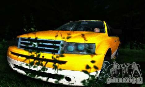 Landstalker GTA IV для GTA San Andreas вид сверху