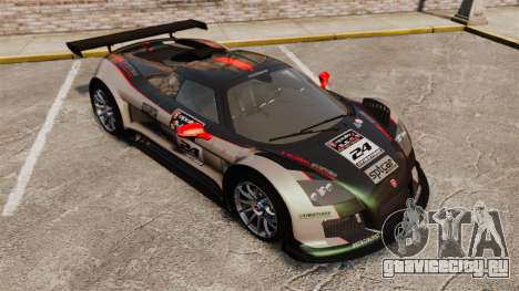 Gumpert Apollo S 2011 для GTA 4 салон
