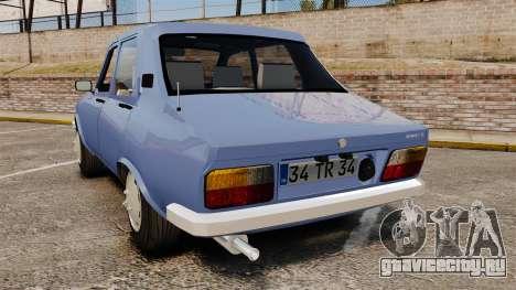 Renault 12 Toros v2.0 для GTA 4 вид сзади слева