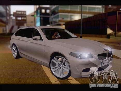 BMW M5 F11 Touring для GTA San Andreas вид слева