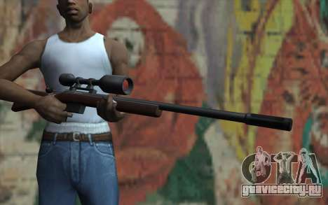 Sniper Rifle HD для GTA San Andreas третий скриншот
