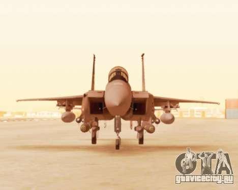 F-15E Strike Eagle для GTA San Andreas вид слева