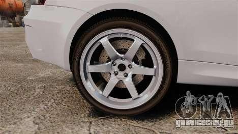 BMW 1M 2014 для GTA 4 вид сзади