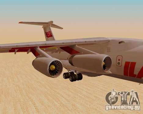 Ил-76ТД ИлАвиа для GTA San Andreas вид справа