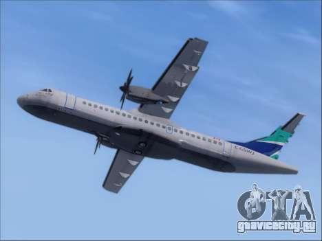 ATR 72-500 WestJet Airlines для GTA San Andreas вид сзади