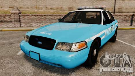 Ford Crown Victoria NYPD [ELS] для GTA 4