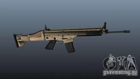 Автомат SCAR-L для GTA 4 третий скриншот