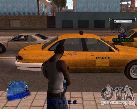 C-HUD Police LVPD для GTA San Andreas второй скриншот