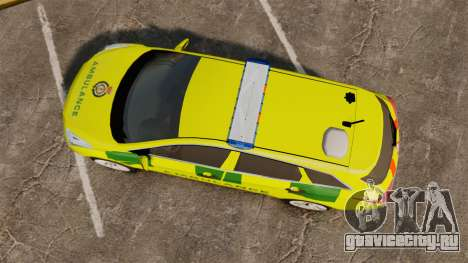 Hyundai i40 Tourer [ELS] London Ambulance для GTA 4 вид справа