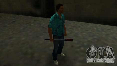 Окровавленная Бейсбольная Бита для GTA Vice City