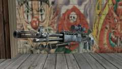 M14 EBR Blue Tiger