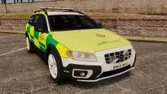 Volvo XC70 Paramedic [ELS] для GTA 4