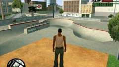 Новый HD Скейт-парк для GTA San Andreas