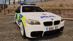 BMW M5 Greater Manchester Police [ELS] для GTA 4