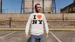 Свитер -Я люблю Нью-Йорк-
