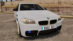 BMW M5 Unmarked Police [ELS] для GTA 4
