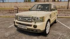 Range Rover Sport Unmarked Police [ELS] для GTA 4