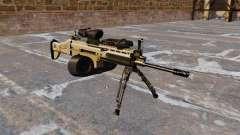 Штурмовой автомат FN SCAR-L C-Mag для GTA 4