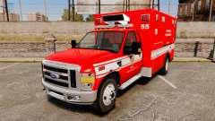Ford E-350 LAFD Ambulance [ELS]