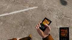 Тема для телефона Halloween для GTA 4