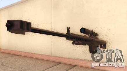 Barrett из Call of Duty MW2 для GTA San Andreas