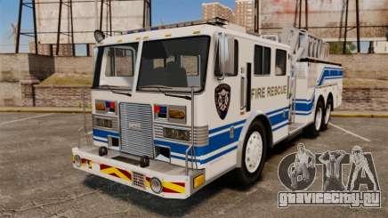 MTL Firetruck MDH1000 Midmount Ladder [ELS] для GTA 4