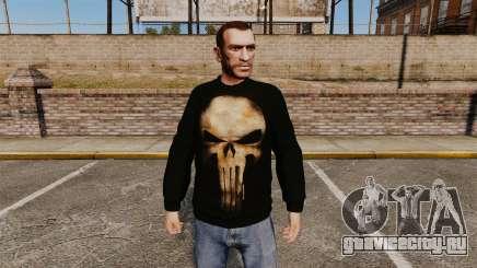 Свитер -The Punisher- для GTA 4
