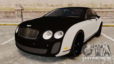 Bentley Continental SS v3.0 для GTA 4