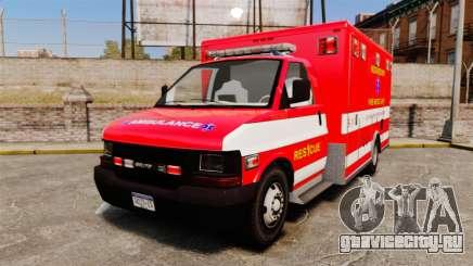 Brute Woonsocket Fire Medic Unit [ELS] для GTA 4