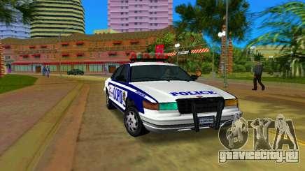 GTA IV Police Cruiser для GTA Vice City