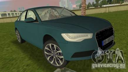 Audi A6 2012 для GTA Vice City