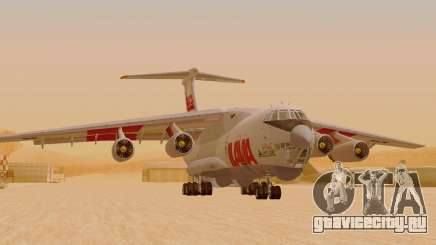 Ил-76ТД ИлАвиа для GTA San Andreas