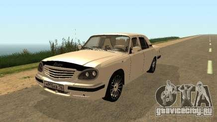 ГАЗ 31105 Волга Кремовая для GTA San Andreas