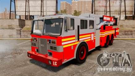 MTL Firetruck Tower Ladder [ELS-EPM] для GTA 4